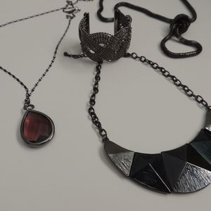 Jewelry - Gunmetal Jewelry Bundle